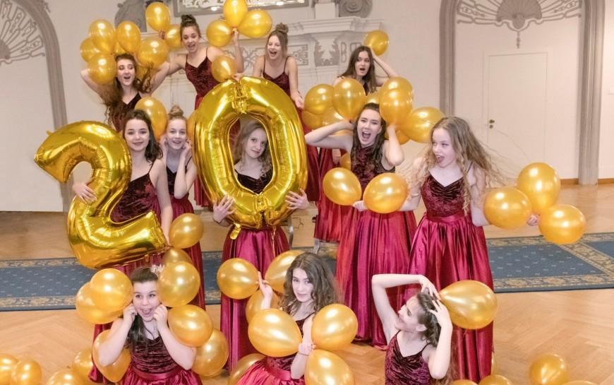 Balbinki mają już 20 lat - taneczny jubileusz