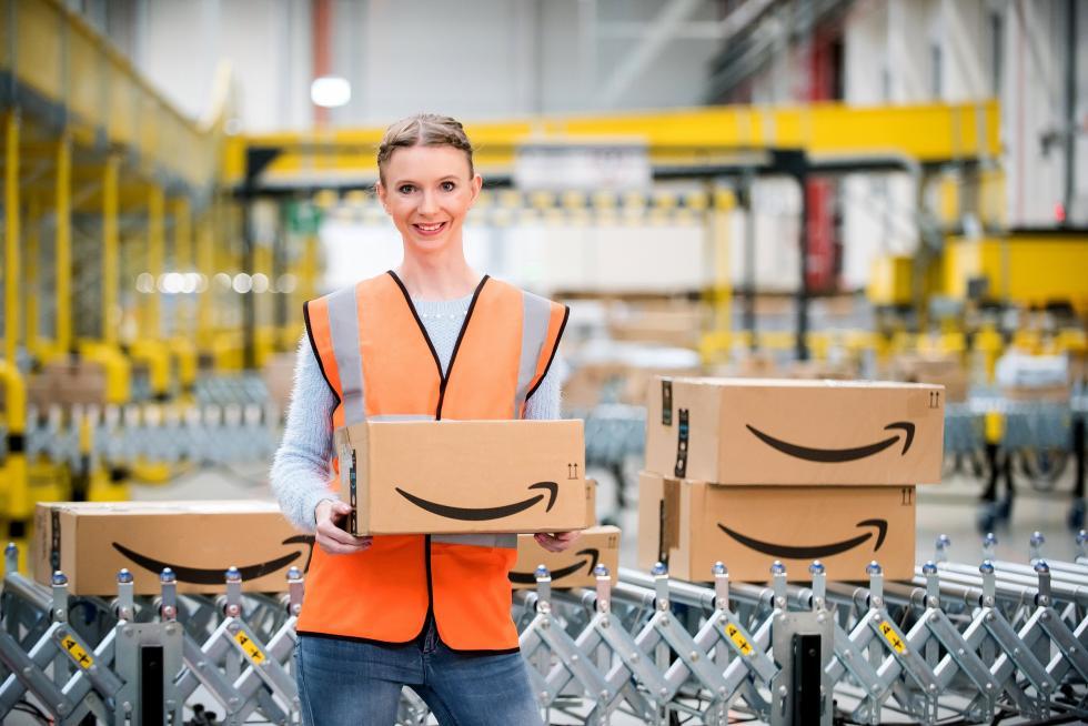 Amazon otwiera nowe centrum logistyczne wOkmianach