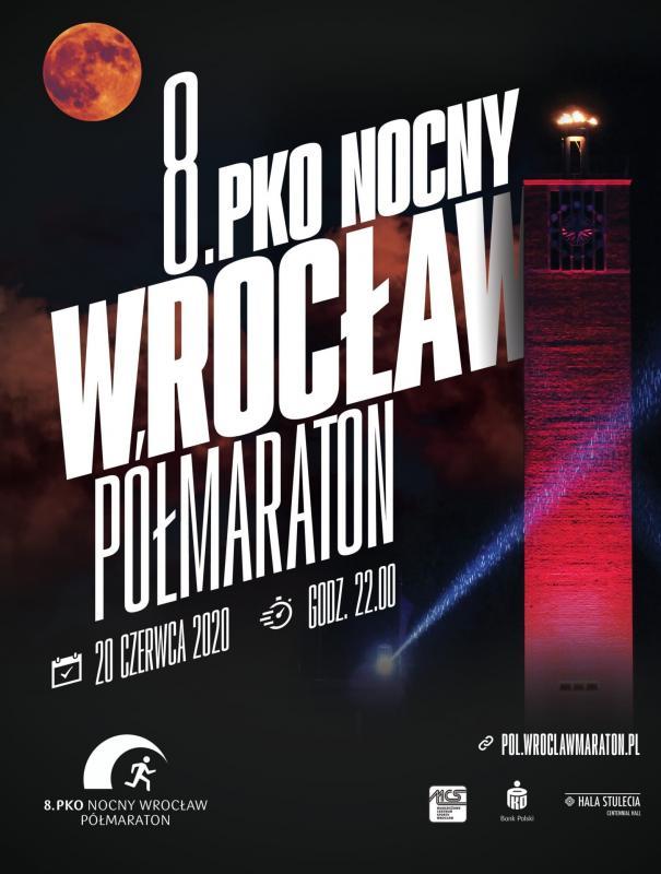 Limit 8. PKO Nocnego Wrocław Półmaratonu wyprzedany!