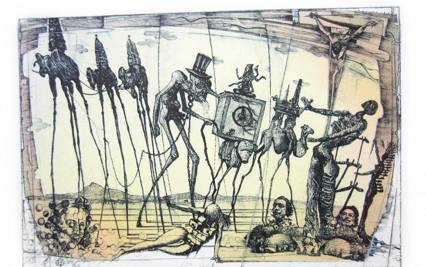 Kreską rysowane obrazy snów i rzeczywistości wGalerii Sztuki