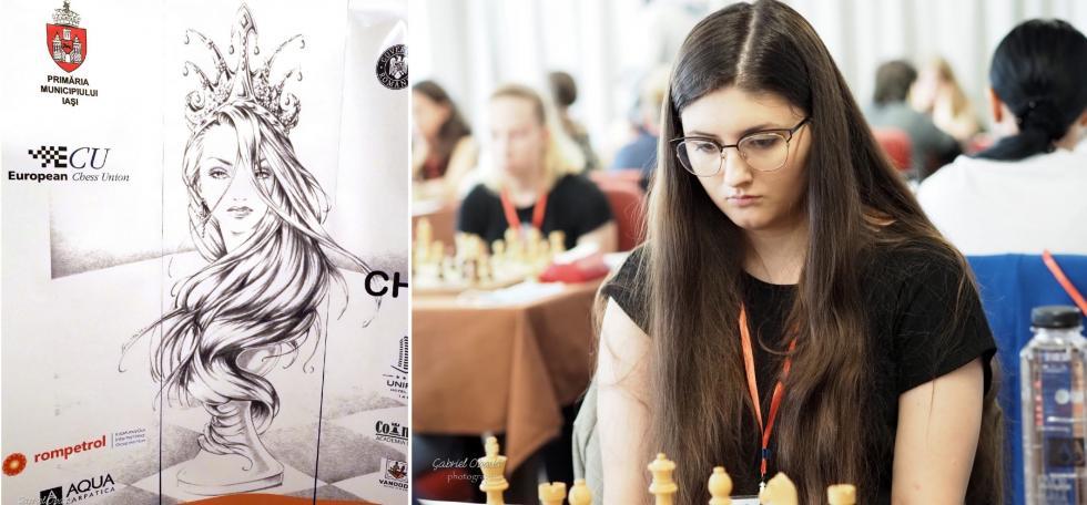 Brąz Mistrzostw Europy szachistki Miedzi